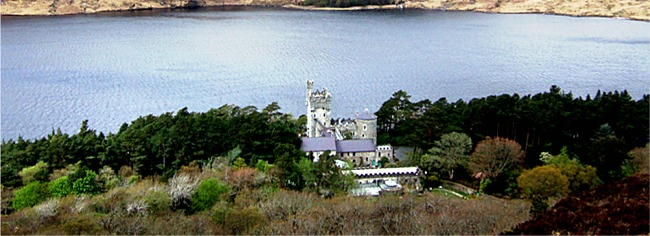 Glenveagh Castle in Glenveagh National Park, Letterkenny near An Fál Carrach, ideal for touring North West Ireland