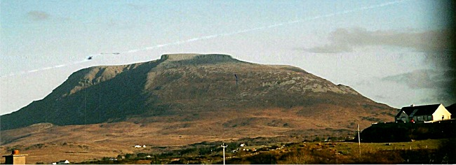 Muckish Mountain near An Fál Carrach, County Donegal, Ireland