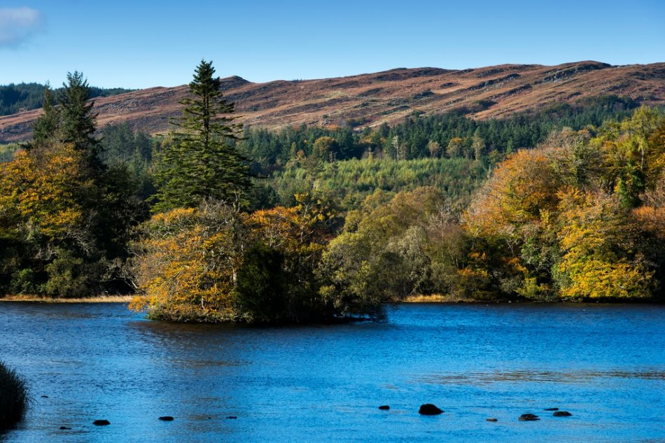 Loch Iascaigh / Lough Eske is is surrounded to the north, east and west by the Bluestack Mountains, which occupy much of southern County Donegal - convenient for touring from Árasáin Bhalor - 4 Star Self Catering Apartments & House, Falcarragh, Ireland